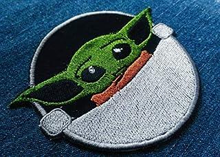 toppa STAR WARS the mandalorian baby Yoda patch 8x10cm