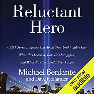 Reluctant Hero audiobook cover art