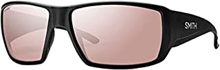 Smith Optics Guide's Choice Sunglasses(Matte Black,Polarchromic Ignitor Mirror)