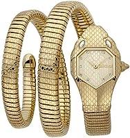Just Cavalli Signature Snake Serpente Doppio Stainless Steel Watch JC1L168M0035 - Quartz Analog for Women in Stainless...