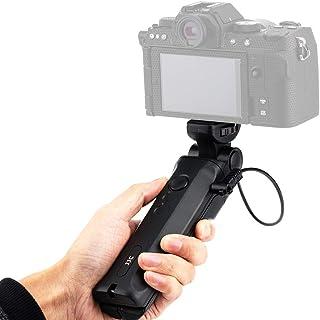 JJC Uchwyt statywu fotografowania i przewodowy pilot do selfie Vlogging kompatybilny z Fujifilm X-E4 X-S10 X-T200 X-T4 X-T...