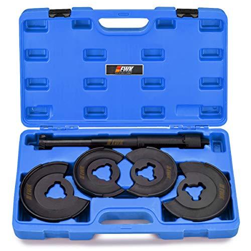 EWK 5 Pcs Coil Spring Compressor Tool Strut Spring Compressor Front Rear Suspension Tool for Mercedes Benz W123 W210
