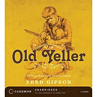 Old Yeller audiobook cover art
