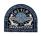 Iron ON Alien Movie Prometheus Covenant Weyland Corp Crew Uniform Cosplay Patch