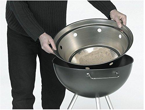 Dancook 1400 - Barbecue boule avec grille de cuisson de 54cm, grand modèle.