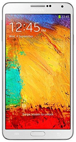 """Samsung Galaxy Note 3 - Smartphone libre Android (pantalla 5.7"""", cámara 13 Mp, 32 GB, Quad-Core 2.3 GHz, 3 GB RAM), blanco [importado]"""