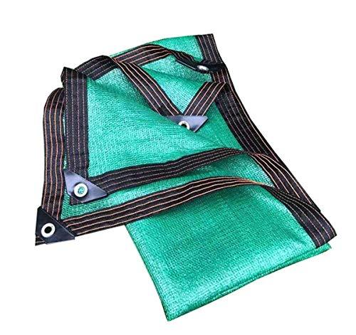 ZGQSW Anti-UV-Schattentuch, Balkon Dach Pflanze Carport Decken Sie das Beschattungsnetz ab, Verschleißfest Anti-Aging (Farbe: grün, 4 * 5 m) (Color : Green, Size : 2 * 2m)