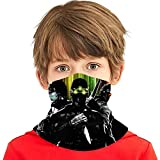 Breathable Tube Mask Scarf Bandana, Elastic Dust Proof Balaclava for Hiking Outdoors, Kids Teens Game Theme Rainbow Six Siege Splinter Cell Ghost Recon Motorcycle Headbands