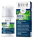 Lavera Natural Daily Moisturizer For Men, Anti-Aging anti Anti-Wrinkle, Long Lasting Moisturization - Sensitive Skin (30ml/1oz)