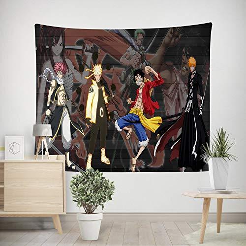 200x150cm wandtapijt bos boom wandtapijt geveltop hangend psychedelisch natuurlijk landschap wandtapijt woondecoratie anime naruto schilderij wan