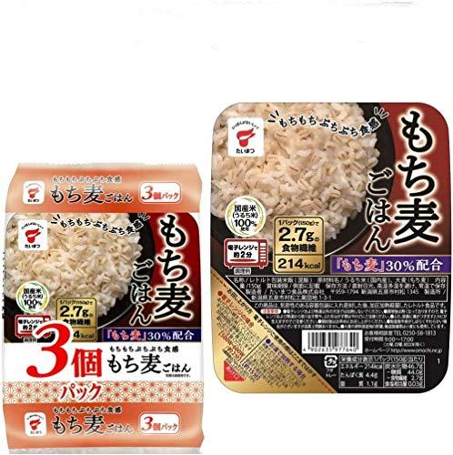 時短食 たいまつ もち麦 レトルト ごはん 大麦 150g 24個セット