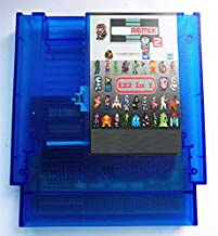 BrotheWiz 72 pin 8 bit game The Ultimate Remix 2 Game Cartridge Contra/Earthbound/Megaman 123456 72 Pins 8 Bit Game Card