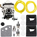 Carburetor for Honda FG100 Tiller GX31 GX22 Engine String Trimmer # 16100-ZM5-A95 Carb Primer Bulb Air Filter Tune Up Kit