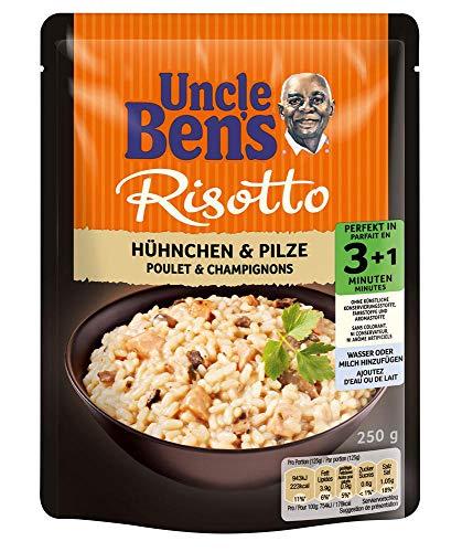 Uncle Ben's Express Fertiggerichte Hühnchen & Pilze, 6 Packungen (6 x 250g)