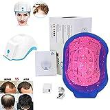 WFWPY Laser Terapia Pelo Crecimiento Casco Dispositivo, Gorra de Vapor para el Cabello,Cabello Pelo Crecimiento Laser Cap Massager para Tratamiento de Crecimiento Rápido
