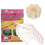 Woboren Mujer 5 Pares Flor Desechable Nipple Covers Pegatinas Pezón & 5 Pares Autoadhesivo Invisible Instant Bare Lift Breast Enhancer Tape