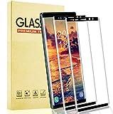 Lixuve Protector de Pantalla para Samsung Galaxy Note 9, Cristal Templado con Cobertura Toda, 9H Dureza, Anti-Arañazos, Alta Sensibilidad Vidrio Templado Película Protectora, 2 Unidades