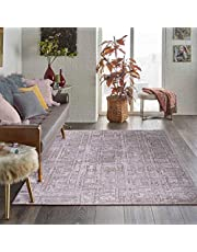 Al Salem Carpet Colorado Polyster polyproplene Carpet Dinning Room Rectangle 150 CM X 230 CM 14.2KG Cream Modern