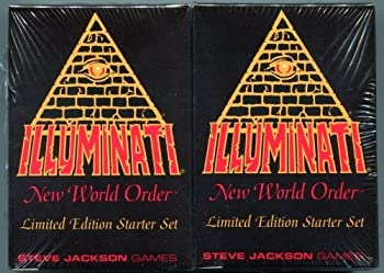 1994-1995 - Illuminati New World Order collectible card game -  INWO Limited Edition Starter Set  Factory Sealed 2 Double Decks 55 cards each INWO rulebook  110 Cards total  By Steve Jackson  Limited Edition 1st Printing 1994   INWO  Starter Set