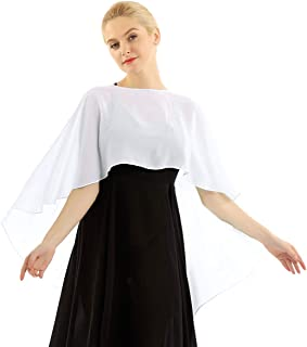 QinCiao Women Summer Cardigans Solid Chiffon Loose Kimono Cardigan Capes Bolero Crop Shrug