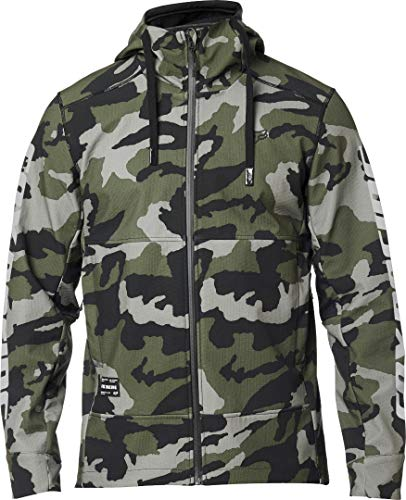Fox Racing Herren Pit Jacket Fleecejacke, Camouflage, Groß