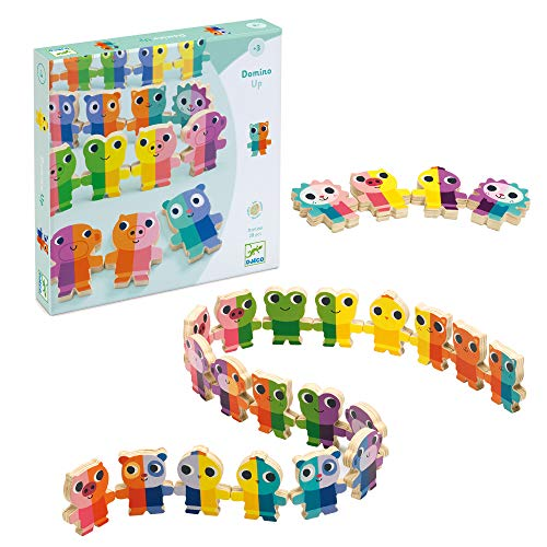 Djeco Juego Educativo Domino Up (31641), Multicolor (1)