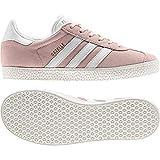 adidas Gazelle J, Zapatillas de Gimnasia Unisex Niños, Rosa (Icey Pink F17/Ftwr White/Gold Met. Icey Pink F17/Ftwr White/Gold Met.), 37 1/3 EU