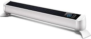 Heater Radiador de calefacción de cerámica Blanca con Control Remoto, Calentador de Espacio Personal con Temporizador de 24 Horas y Seguro para niños, protección contra caídas y sobrecalentamiento