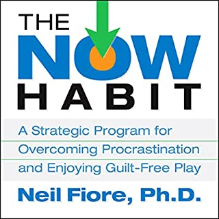 The Now Habit audiobook cover art