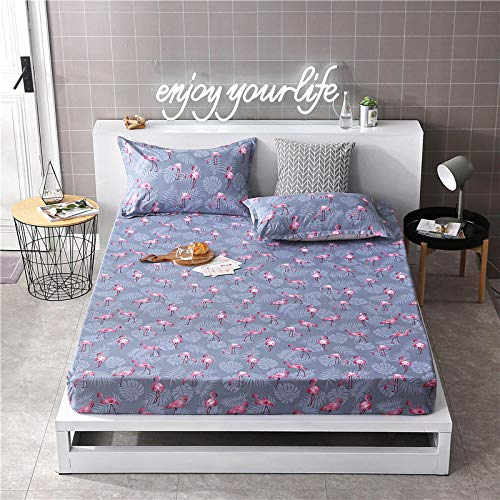 GTWOZNB Ultra Soft Hypoallergenic Microfiber Quilt Cover Sets All-inclusive bed sheet-34_100cm×200cm
