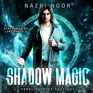 Shadow Magic audiobook cover art