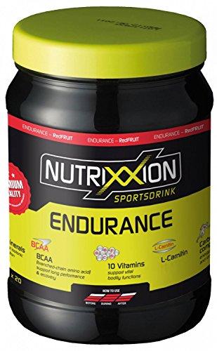 NUTRIXXION ENERGIE Drink ENDURANCE mit BCAA, Vitaminen & Mineralien Set 700g Dose, Geschmack RedFruit