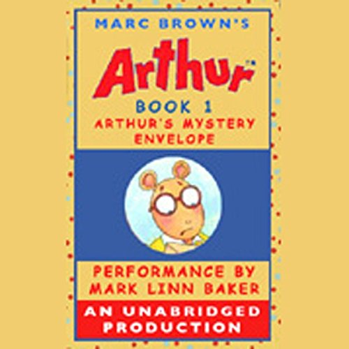 Arthur's Mystery Envelope audiobook cover art