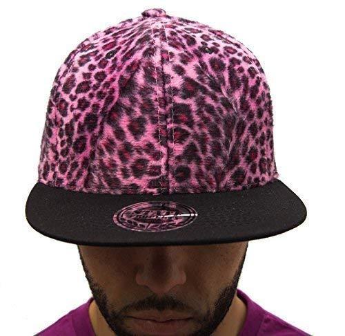 Full léopard Violet Coupelles caps Casquette à visière plate chapeaux,-hip-hop NY DOPE de baseball