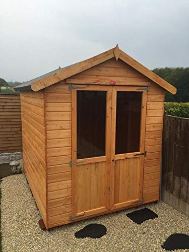 Pinelap 6x6 Patio Devon Summer House Fully T&G Shed