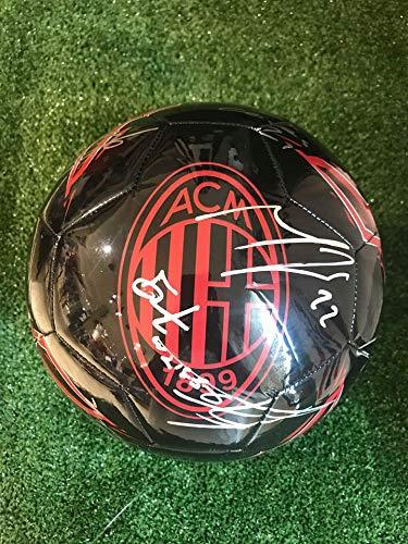 MAESTRI DEL CALCIO Pallone Puma AUTOGRAFATO A.C. Milan 2019/2020
