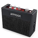 ammoon ギターアンプ マルチエフェクト 小型 ポータブル アンプ内蔵 80ドラムリズム 5W チューナータップテンポ機能をサポート Aux入力ヘッドフォン出力 電源アダプター付属 POCKAMP
