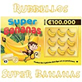 Rubbellos Scherzartikel - Fake Lotto Gewinn - Jedes Los beinhaltet einen Jackpot Lustig - Perfekt...