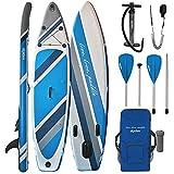 ALPIDEX Tabla Hinchable Surf Stand Up Paddle Board 320 x 76 x 15...