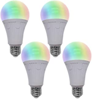 Smart Bulb (2nd Generation) Wi-Fi LED Light Bulb - Dimmable with Memory Function, Compatible with Alexa and Google Assistant, Support IFTTT, No Hub Required (2018 Released) (4 Pack)