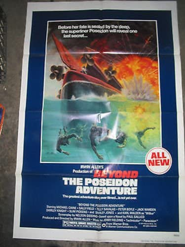 BEYOND THE POSEIDON ADVENTURE ORIG. U.S. Outlet sale feature MOVIE ONE-SHEET POSTE Max 82% OFF