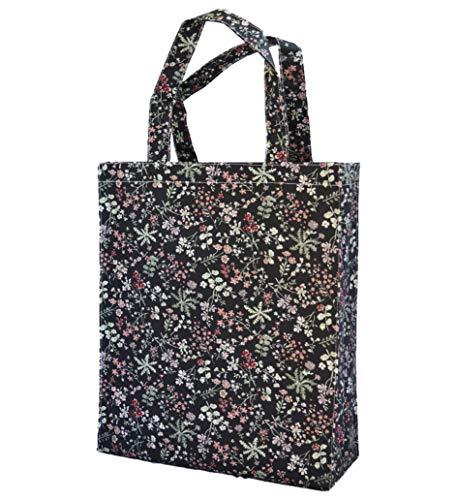 SturdyFoot Bolso del libro con el gusset, bolso de la música, bolso de totalizador, bolso de compras, bolso de oilcloth, Bolsas de la compra reutilizables, impermeable Bolsa (Suave/Peso ligero)
