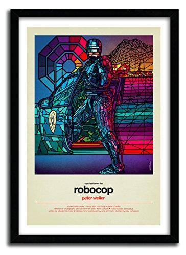 Poster Robocop by Van Orton?Art Print?Hochwertige Fine Art - 40_x_60_cm