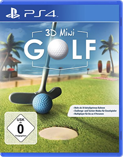 PS4 3D Mini Golf PS4