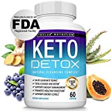 Keto Detox Pills Advanced Cleansing Extract – 1532 Mg Natural Acai Colon Cleanser Formula Using...