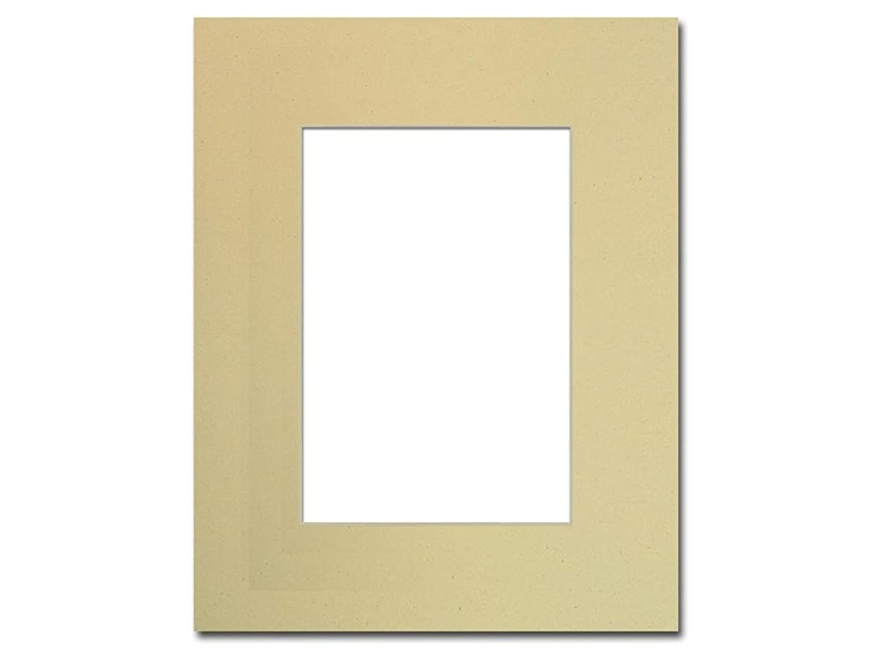 PA Framing, Single Mat, 8 x 10 inches Frame for 5 x 7 inches Photo Art Size - Cream Core/Beach