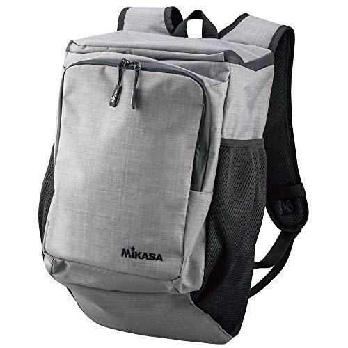 ミカサ(MIKASA) ボールバッグ 1個入れ リュックタイプ グレー AC-BGR20-W