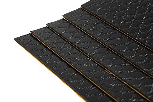 20 Stück Bitumenmatte, Antidröhnmatte, Dämmmatte Selbstklebend 500x200x2mm