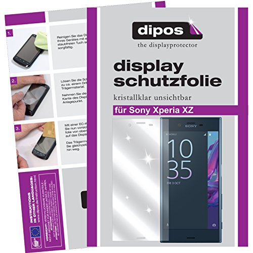 dipos I 6x Protection ecrán compatible avec Sony Xperia XZ Films de Protection d'écran Transparent