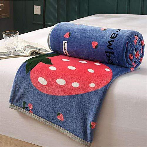 XUMINGLSJ hochwertige Wohndecken Kuscheldecken, extra warm Sofadecke/Couchdecke in zweiseitig,super flausch Decke als Sofaüberwurf oder Wohnzimmerdecke -lila_150 * 200 cm